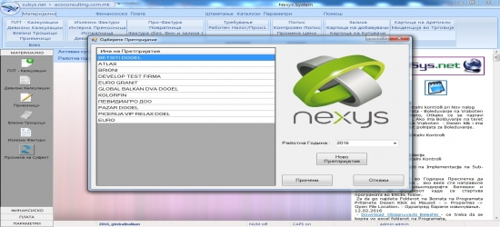 Nexys System